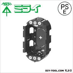 小判穴ホルソー用パネルボックス(あと付はさみボックス)   SBP-1G 40 ヶ