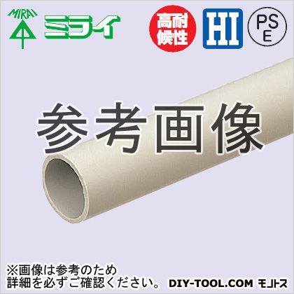 【送料無料】未来工業 硬質ビニル電線管(J管) ベージュ VE-42J4 5ヶ