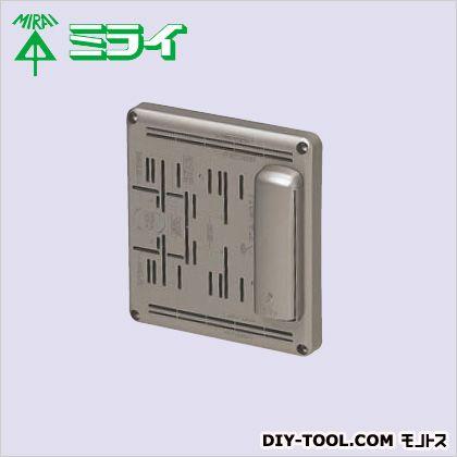 未来工業 電話保安器用ポリ台 シャンパンゴールド POW-1815TCG