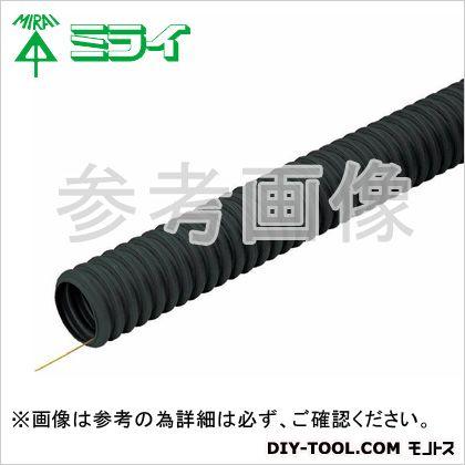 【送料無料】未来工業 難燃ミラレックスF (難燃性波付硬質合成樹脂管(FEP)) N-FEP-80S 30m