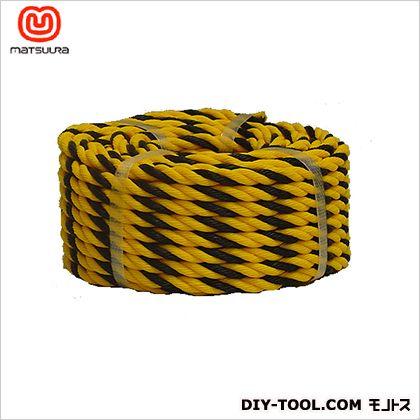 標識ロープ(HM) トラ柄 #9-20(約8mm×20m) #9-20 1 巻