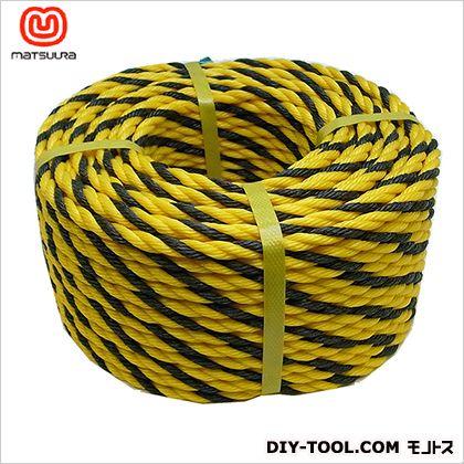 標識ロープ(HM) トラ柄 #9-50(約8mm×50m) #9-50 1 巻