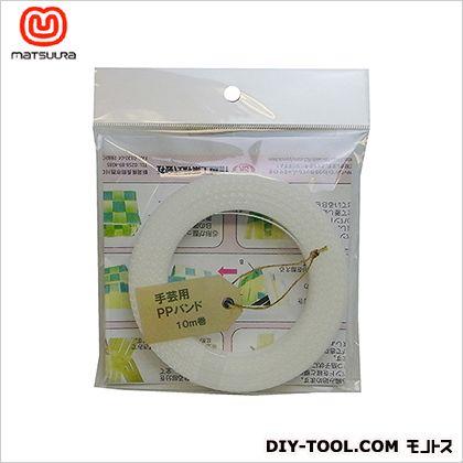 手芸用PPバンド 透明 15.5mm×10m  1 巻