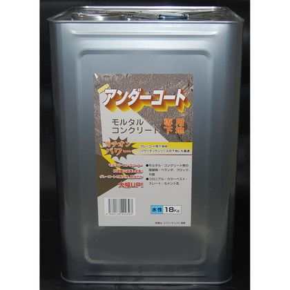 カチオン・アンダーコート高浸透性改修用下地材 乾燥後透明