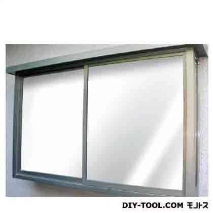 窓飾りシート(ミラータイプ) シルバー 92cm丈×90cm巻 GP-9286
