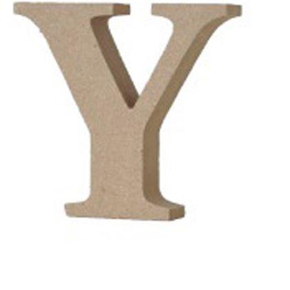 アルファベットレター大文字Y  約90×90×20mm EE1-5074