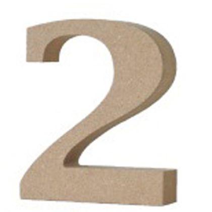 アルファベットレター数字2  約20×75×90mm EE1-5078