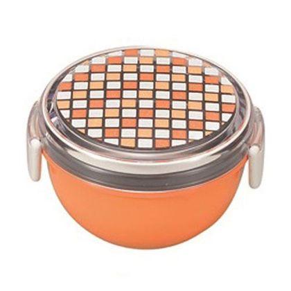 宮本産業 お弁当箱パレットランチボウルどんぶり型 オレンジ 241722