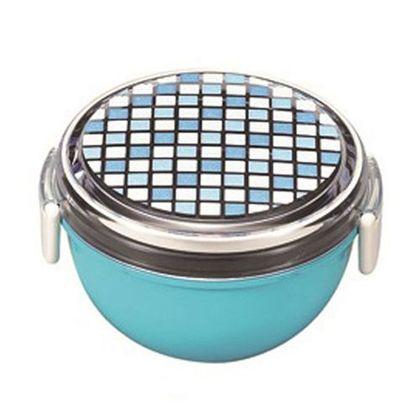 宮本産業 お弁当箱パレットランチボウルどんぶり型 ブルー 241723
