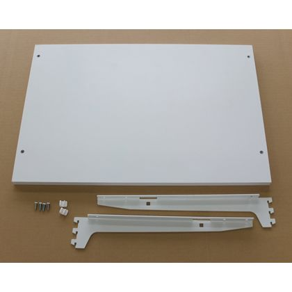 ESラック 棚板セット 白 棚幅600mm奥行き400mm SA-EST6040