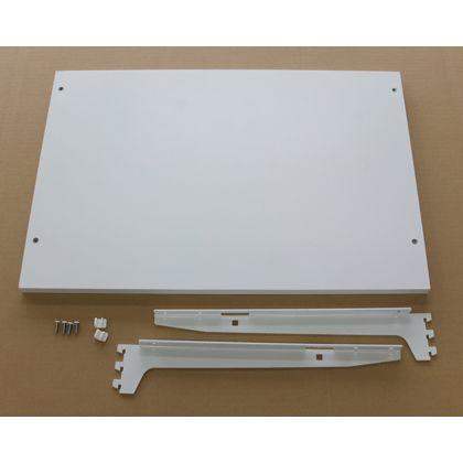 ESラック 棚板セット 白 棚幅750mm奥行き400mm SA-EST7540