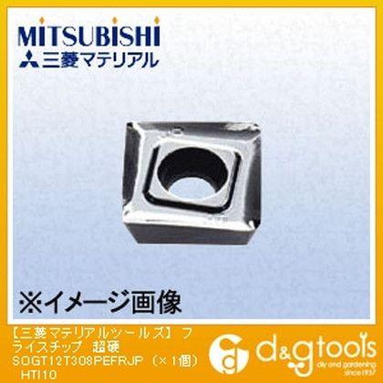 ミツビシマテリアル フライスチップ 超硬 HTI10 SOGT12T308PEFRJP