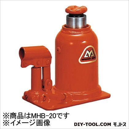 【送料無料】マサダ 標準オイルジャッキ20TON MHB-20 1個