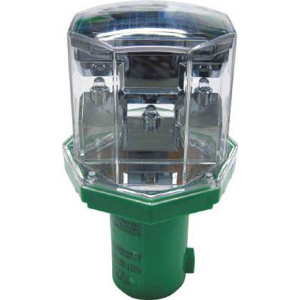 獣害LEDアニマルパンチ141.5×φ39.5 グリーン W80×D80×H141mm EG-58