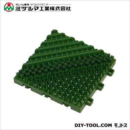 ミヅシマ工業 ブラシマットA グリーン 402-170 0
