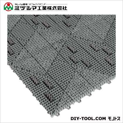 ミヅシマ工業 ブラシマットL グレー 402-201 0