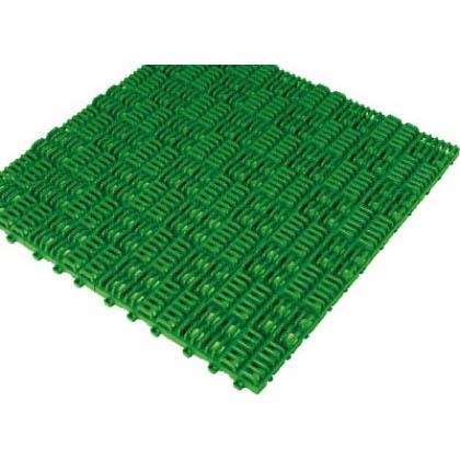 クロスラインマットエース150X150緑   420-0300