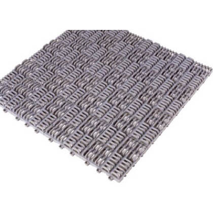 クロスラインマットエース150X150グレー   420-0310