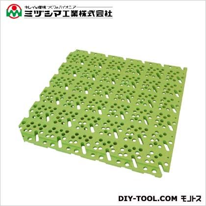 スーパーチェッカー ライトグリーン 300mm×300mm×13mm 423-0020