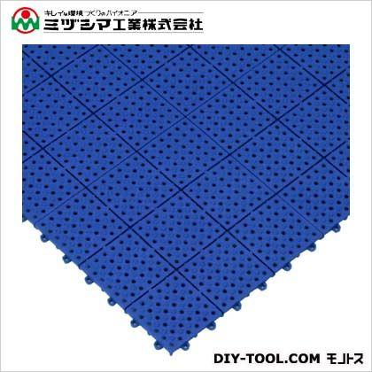 パレスチェッカー ブルー 300mm×300mm×13mm 422-0250