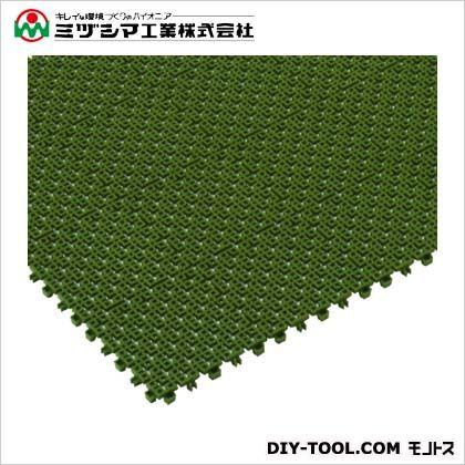 チェックチェッカー グリーン 150mm×150mm×15mm 420-0080