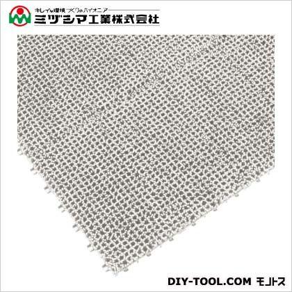 ミヅシマ工業 ジョイント人工芝生 ホワイト 300mm×300mm 440-0010