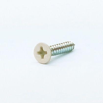 皿タッピング10本入り アイボリー M3×16(mm) 6200
