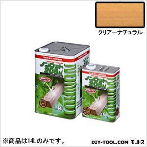 【送料無料】三井化学産資 ノンロット205N屋外白木用 クリアーナチュラル 14L ZN-CN 0