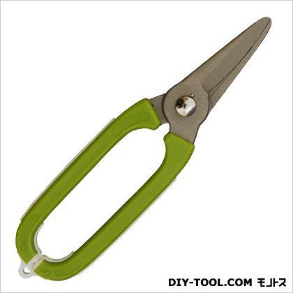 みきかじや村 ガーデンオーバル芽切鋏 グリーン 刃長:65mm TS138