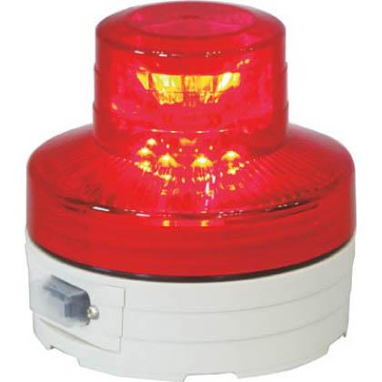 電池式LED回転灯ニコUFO常時点灯タイプ赤   NU-AR
