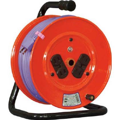 電工ドラム標準型100Vドラム2芯30mソフト電線   NR-304DS