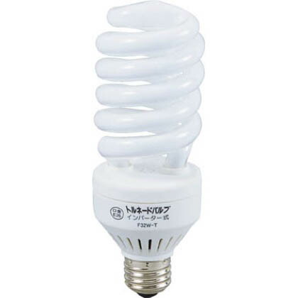 蛍光灯交換球トルネードバルブ100V32W   F32W-T