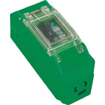 プラコンインポッキンブレーカ100V抜止コンセント付漏電遮断器付   PIPB-EB-N