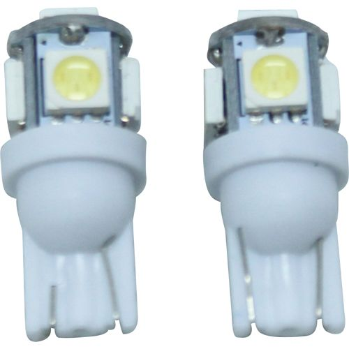 3chip 5連高輝度LEDバルブ ホワイト T10 13010283
