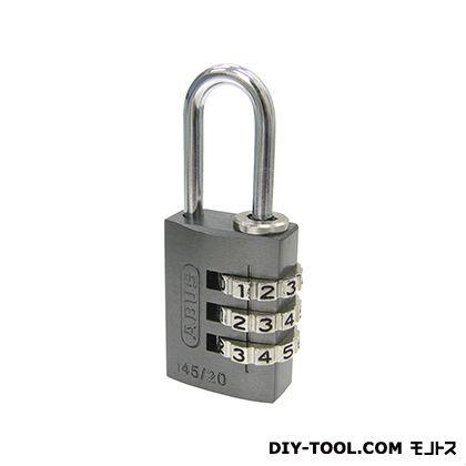 日本ロックサービス ABUSナンバー可変式南京錠145-20 チタニウム 20ミリ ABUS 145-20TI