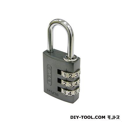 日本ロックサービス ABUSナンバー可変式南京錠145-30 チタニウム 30ミリ ABUS 145-30TI