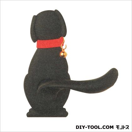 【送料無料】長沢製作所 Dog-2空錠わんにゃんレバーハンドル つや消し黒 9×12.65×14.3cm TX-W10D-NB  レバー錠ドア錠