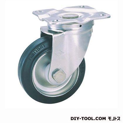 【送料無料】ナンシン 定番SUS中軽量キャスターゴム車輪 高さ:190mm SU-STC150SUN(C150-150×42)