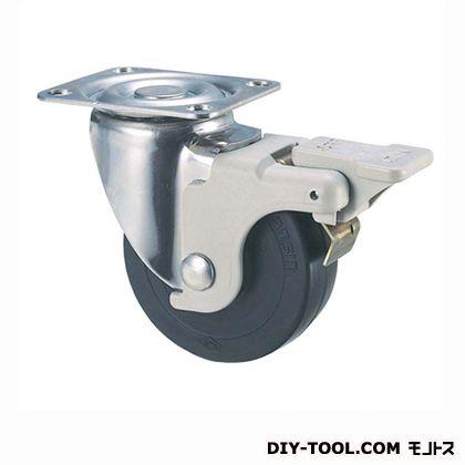 【送料無料】ナンシン 定番SUS中軽量キャスターゴム車輪 高さ:190mm SU-STC150SUN S2(-150×42)
