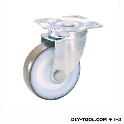 【送料無料】ナンシン 定番SUS中軽量キャスターウレタン車輪 高さ:190mm SU-STC-150 GNU