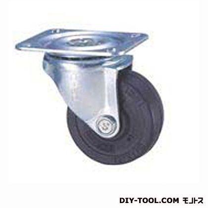 定番小径キャスターゴム車輪  高さ:65mm STC50EM (C 50- 50×21)