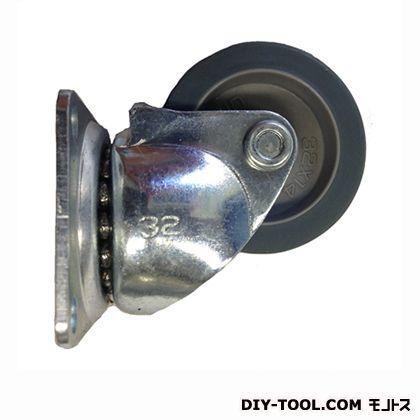 定番小径キャスターエラストマー車輪  高さ:42mm STC-32EM