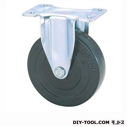 定番軽量キャスターゴム車輪  高さ:80mm KEL65RL (K 65- 65×20)