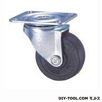 定番中軽量キャスターゴム車輪  高さ:93mm STC75EM (C 75- 75×25)
