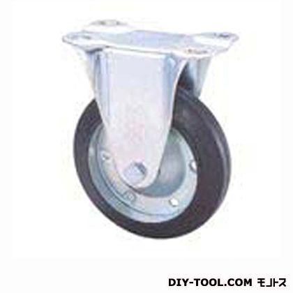 定番中軽量キャスターゴム車輪  高さ:165mm SKC125CBC(F125-125×38)
