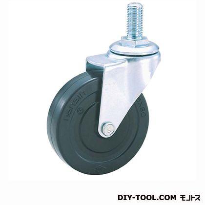 軽量ねじ込みキャスターゴム車輪   SEL65RL M12(S 65- 65×20)