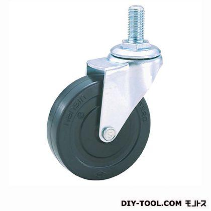 軽量ねじ込みキャスターゴム車輪   SEL75RL M12(S 75- 75×20)
