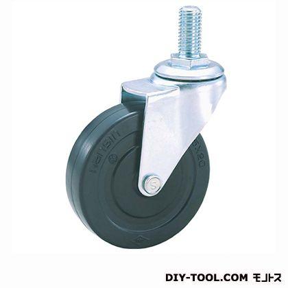 軽量ねじ込みキャスターゴム車輪   SEL100RL M12(S100-100×25)