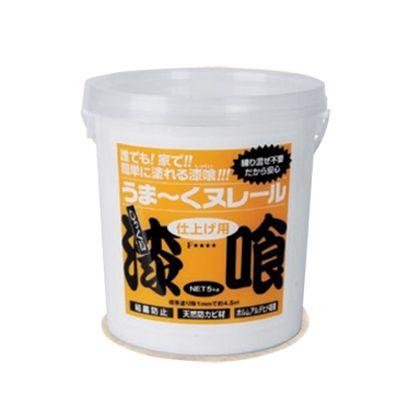 日本プラスター うま~くヌレール 漆喰 若草色 5Kg 12UN09 【在庫限り特価】