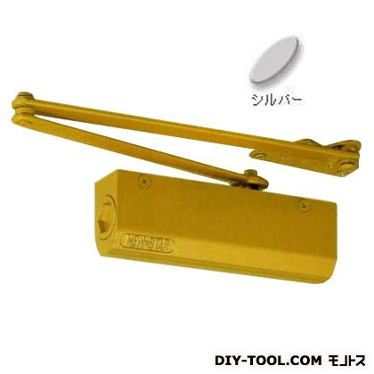 ドアクローザーパラレルストップ付N-01 シルバー  PS-5002